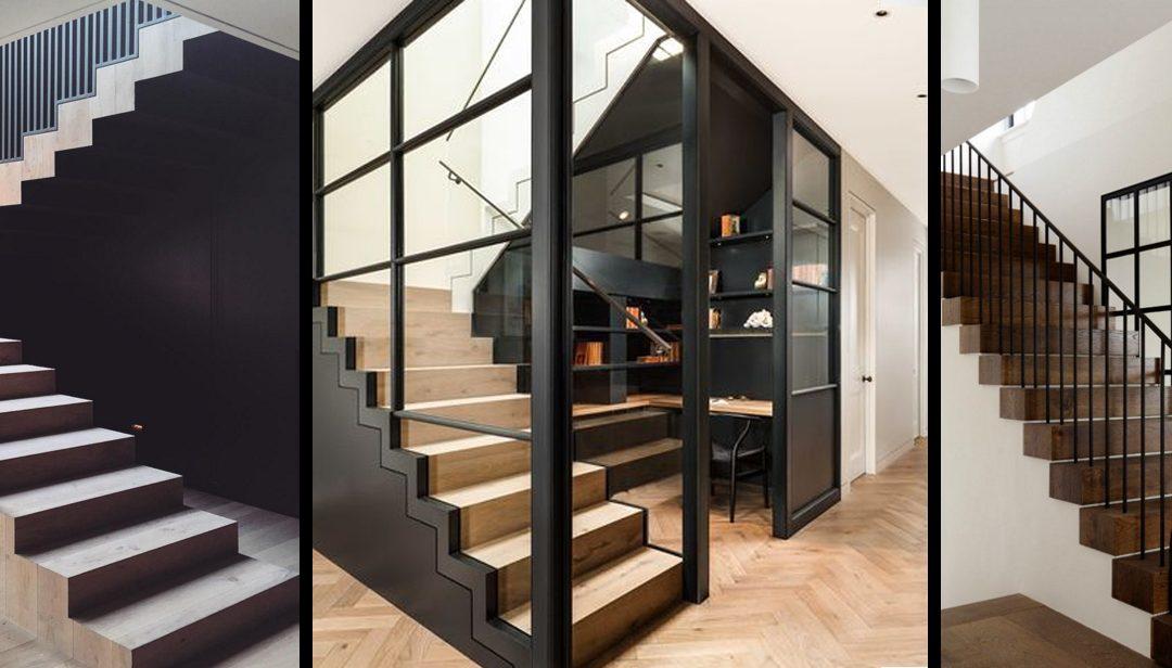 Estructuras de hierro para decorar tus escaleras